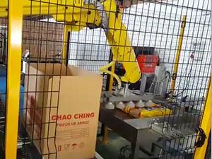 Flow pack production